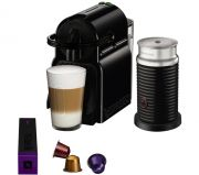 Magimix Inissia Nespresso Bundle Black Coffee Machine & Aeroccino