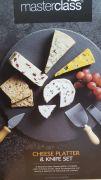 Masterclass Cheese Platter & Knife Set