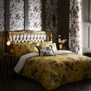 Oasis Leighton Ochre Duvet Cover Set - Double