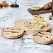 Occasion Oval Cheese Board with Knives