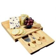 Occasion Square Cheese Board & Knives
