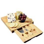 Occasion Square Cheese Board & Knives