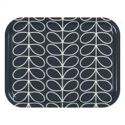 Orla Kiely Linear Stem Medium Tray - Slate