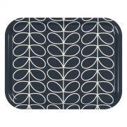 Orla Kiely Linear Stem Medium Tray - Slate