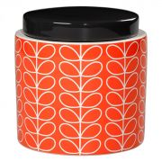 Orla Kiely Linear Stem Presimmon Storage Jar 1 Litre