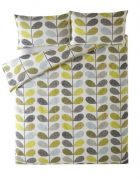 Orla Kiely Scribble Stem Duvet Cover Duckegg Seagrass Double 1