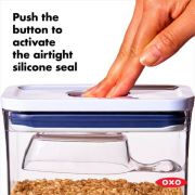 OXO POP Mini Rectangle Container - 0.6L 3