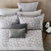 Peacock Blue Hotel Siena Silver Duvet Cover Set - Double 2