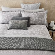 Peacock Blue Hotel Siena Silver Duvet Cover Set - Double 3