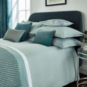 Peacock Blue Santal Jade Duvet Cover Set - Double 2