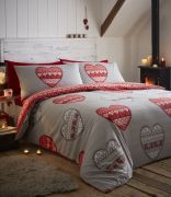 Portfolio Boden Red Duvet Cover Set - King
