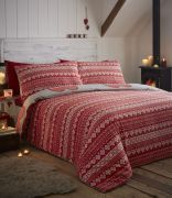 Portfolio Boden Red Duvet Cover Set - King 2