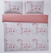 Portfolio Pasture Coral Duvet Cover Set - Double 2