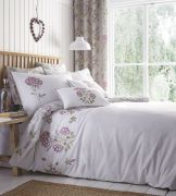 Portfolio Secret Garden Lavender Duvet Cover Set - Double