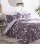 Portfolio Yasmina Plum Duvet Cover Set - King