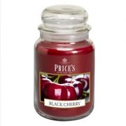 Prices Large Jar Candle Black Cherry