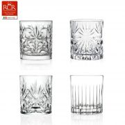 RCR Mixology Cocktail Art Set of 4 Tumblers