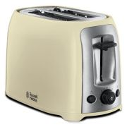 Russell Hobbs Darwin Two Slice Toaster Cream