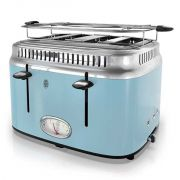 Russell Hobbs Retro 4 Slice Toaster - Blue