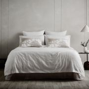 Sheridan Houlby White Duvet Cover Set - Double