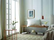 Sheridan Lanham Silk Tailored Pillowcase - Snow 3