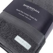Sheridan Quick Dry Towel Bale - Graphite 2