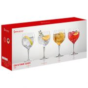 Boxed Spiegelau Set of 4 Gin & Tonic Glasses