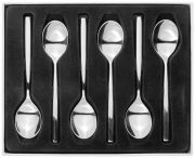 Stellar Rochester Set of 6 Tea Spoons BL29