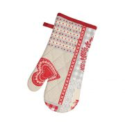 Stow Green Nordic Patchwork Single Oven Glove