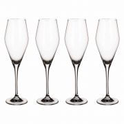 Villeroy & Boch La Divina Champagne Glass - Set of 4