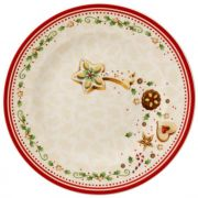Villeroy & Boch Winter Bakery Delight Falling Star Salad Plate 21.5cm