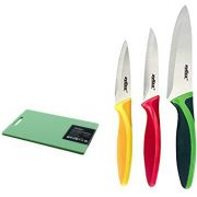 Zyliss 4 Piece Board And Knife Set